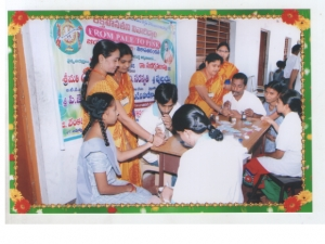 Bhadrachalam Vikasa Tarangini Conducted General Health Camp