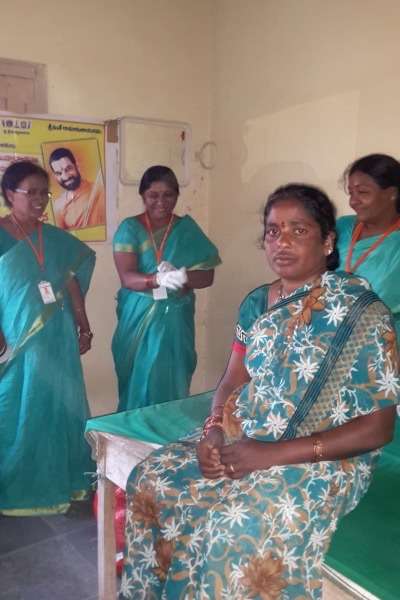 Mahila Arogya Vikas Cancer Awareness Camp Kannekallu Nalgonda