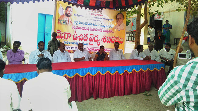 Mega Women Health Care Camp in Vemulawada, Karimnagar