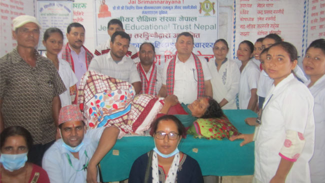 Vikasa Tarangini Free cancer camp nepal