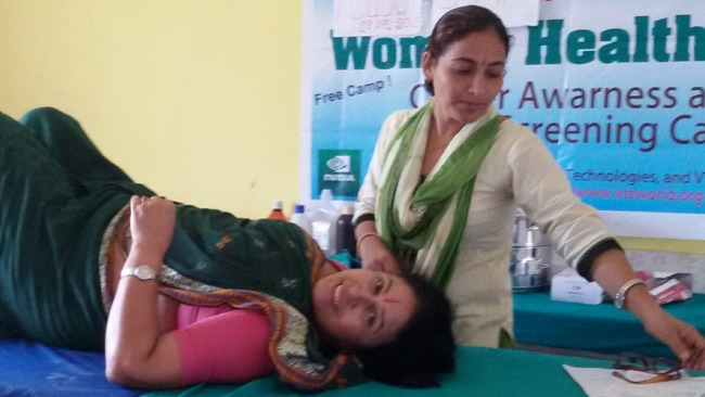 Women Cancer Awareness Camp in Biratnagar