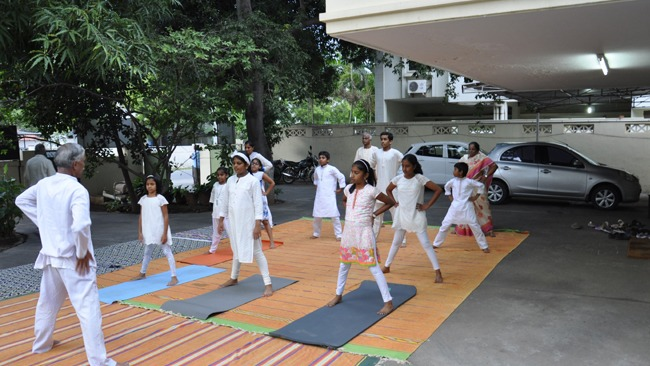 International Yoga Day at Coimbatore