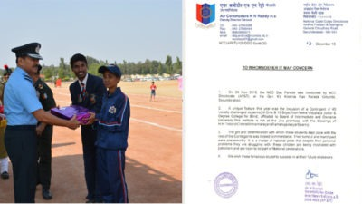 Netra-students-receives-appreciation-from-Air-Commodore