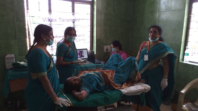 105 Women Screened at Shadnagar