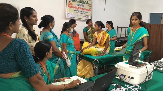 Mahila Arogya Vikas Conducted Medical Camp at Vempadu