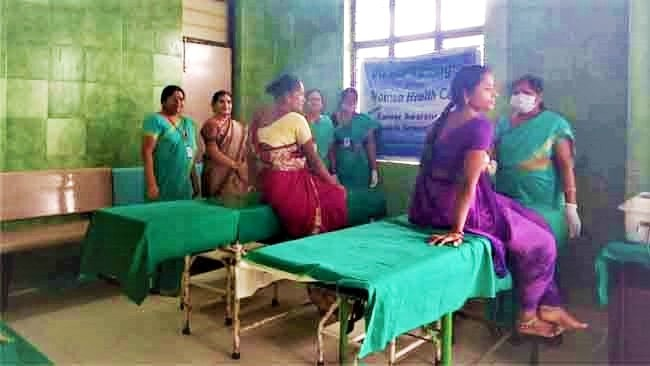 Mahila Arogya Vikas Conducted Medical camp at Shadnagar