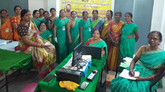 Mahilaarogya Vikas conducted Medical Camp at Badangipet